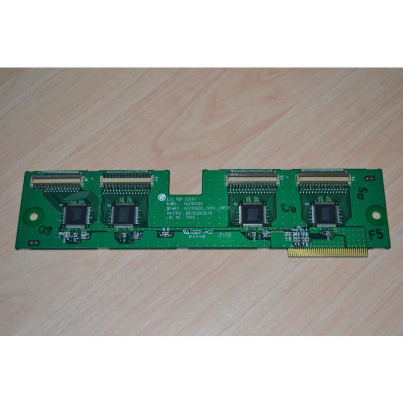 LG PDP 42V50000 6870QDE007B UPPER