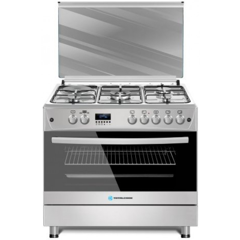 TOTALCOOK EXCLUSIVE LINE INOX GÁZ – ELEKTROMOS 90X60