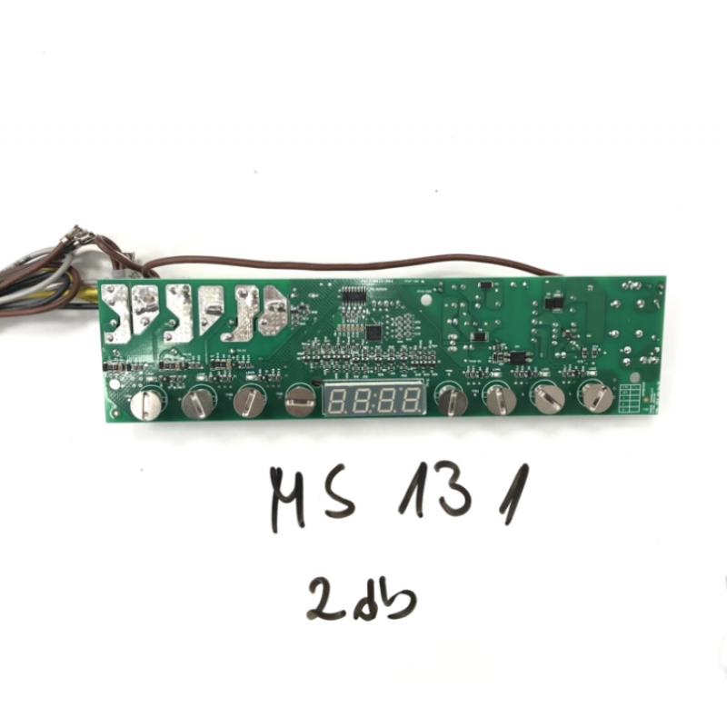 Vezérlő elektronika (MS131 főzőlaphoz)