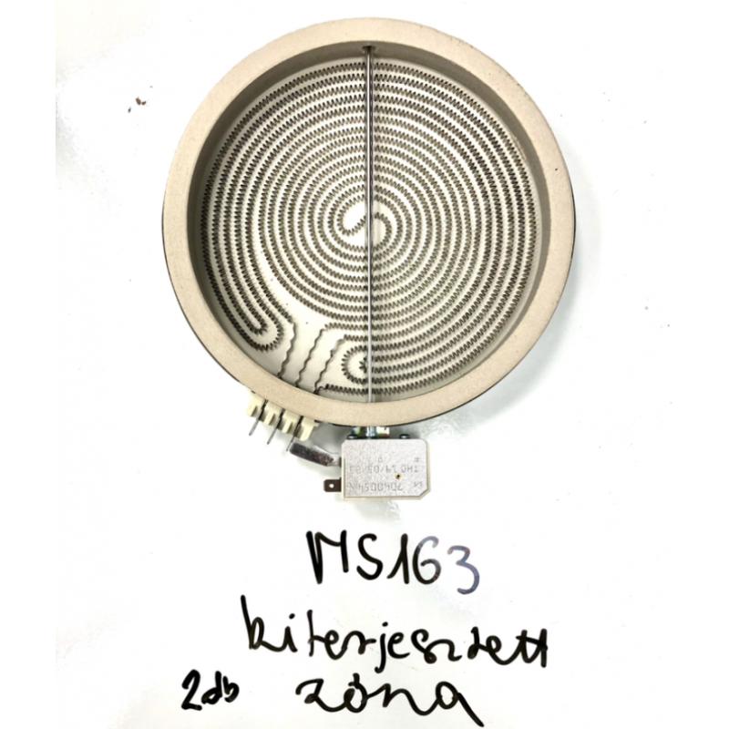 Kiterjesztett fűtőbetét (MS163 főzőlaphoz)
