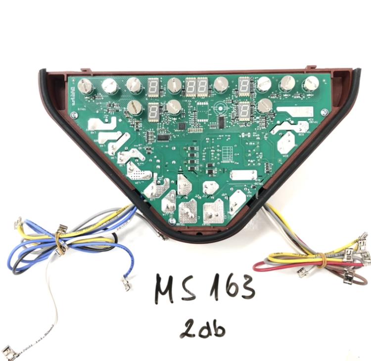 Vezérlő elektronika (MS163 főzőlaphoz)