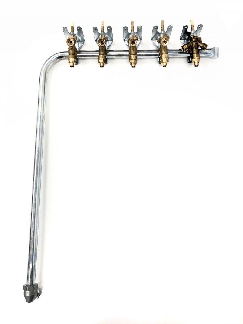 Komplett csapszerelvény (50×60-as gáztűzhelyhez)