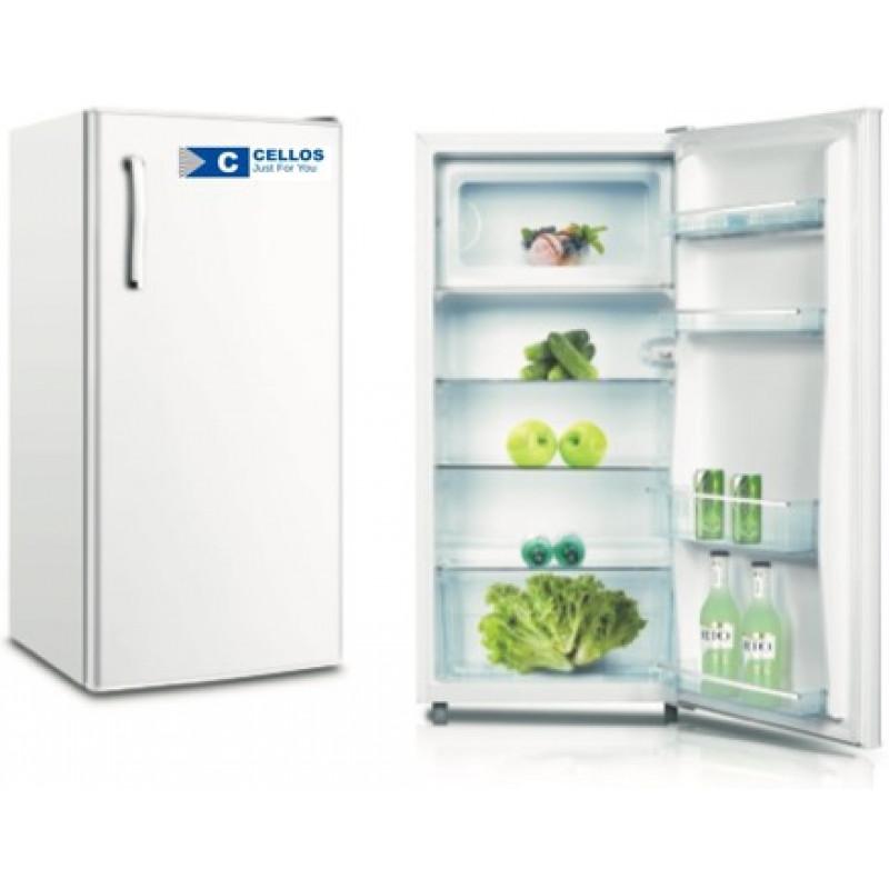 Egyajtós hűtőszekrény belső fagyasztóval .