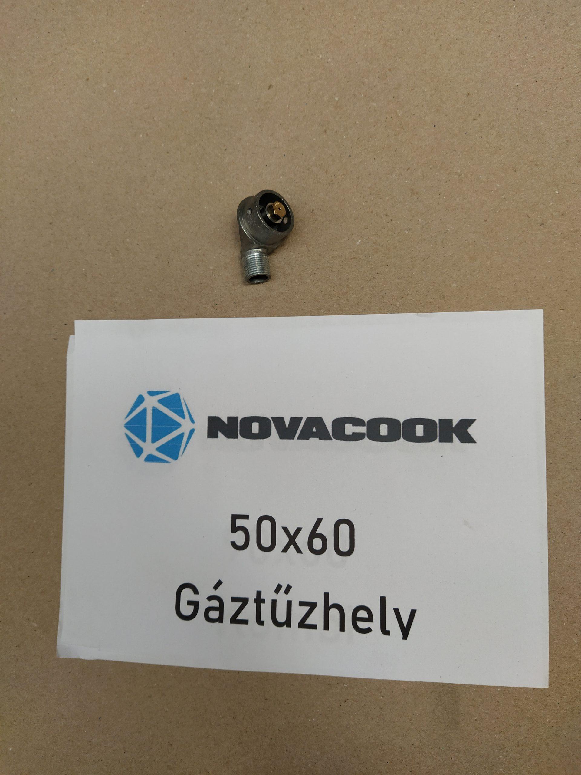 Gáz sütő fúvókatartó csonk (50×60-as gáz sütőhöz)