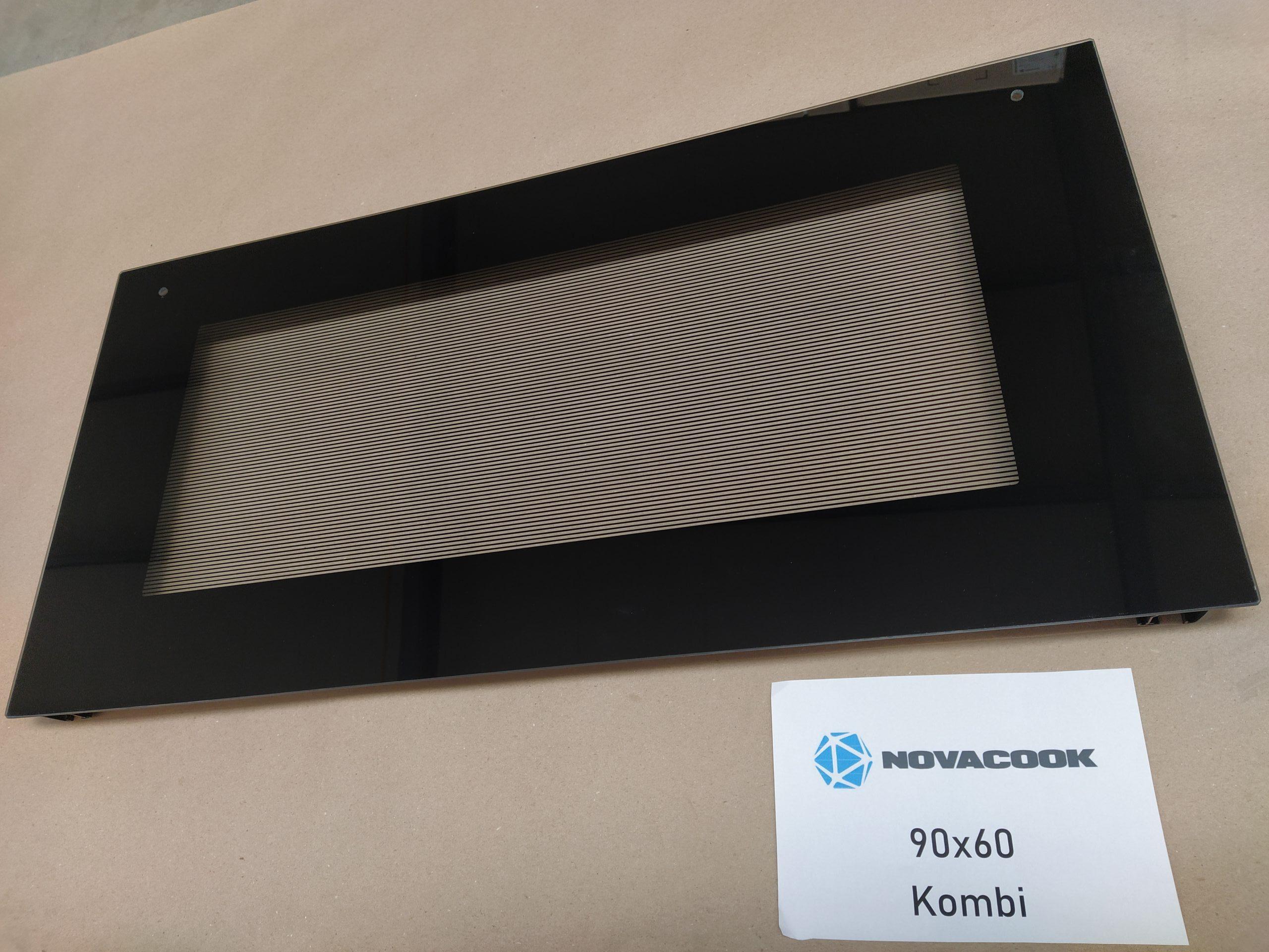 Sütő ajtóüveg (90×60 kombinált sütőhöz)