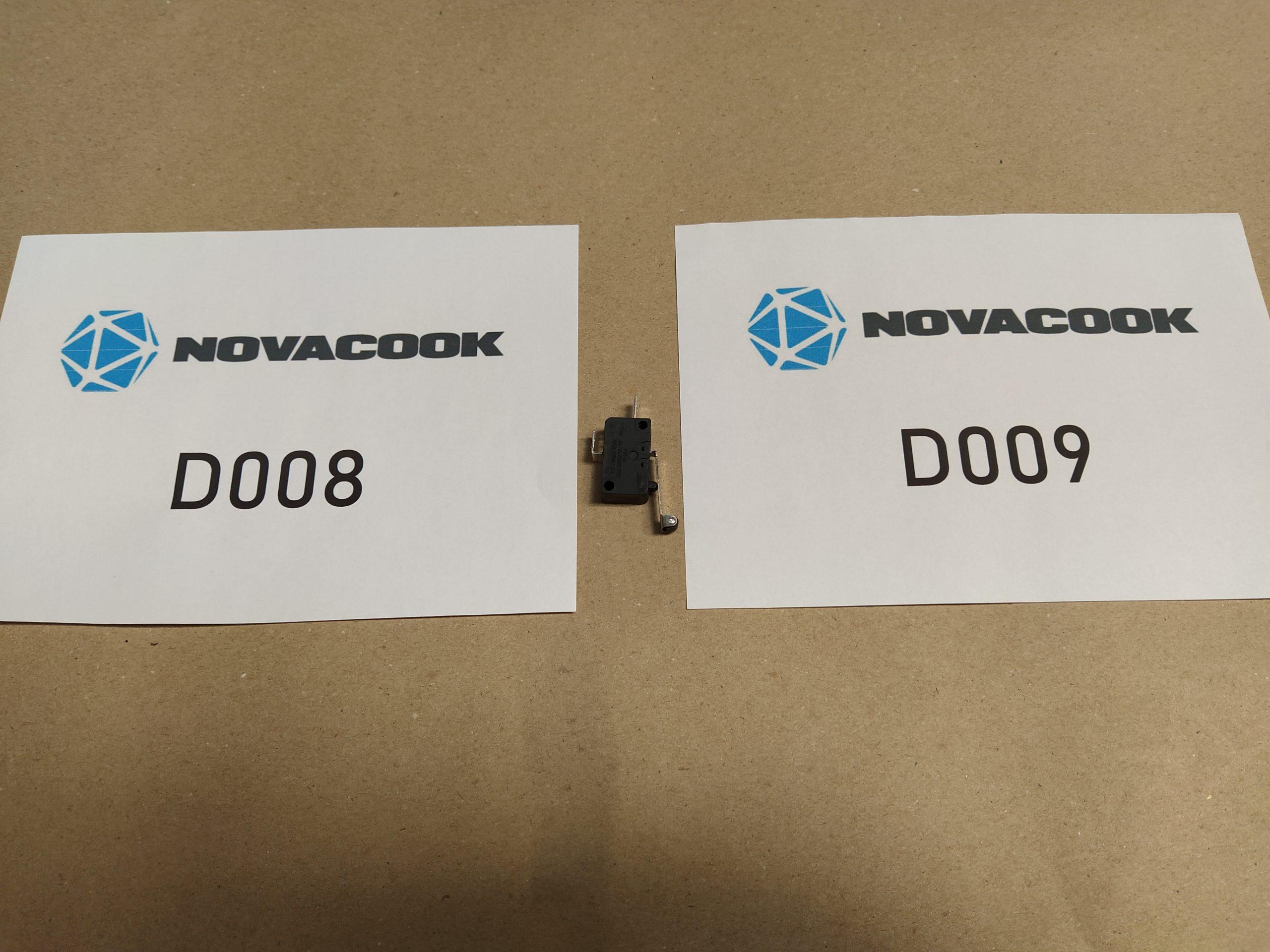 Microkapcsoló (D008 és D009 szagelszívóhoz)