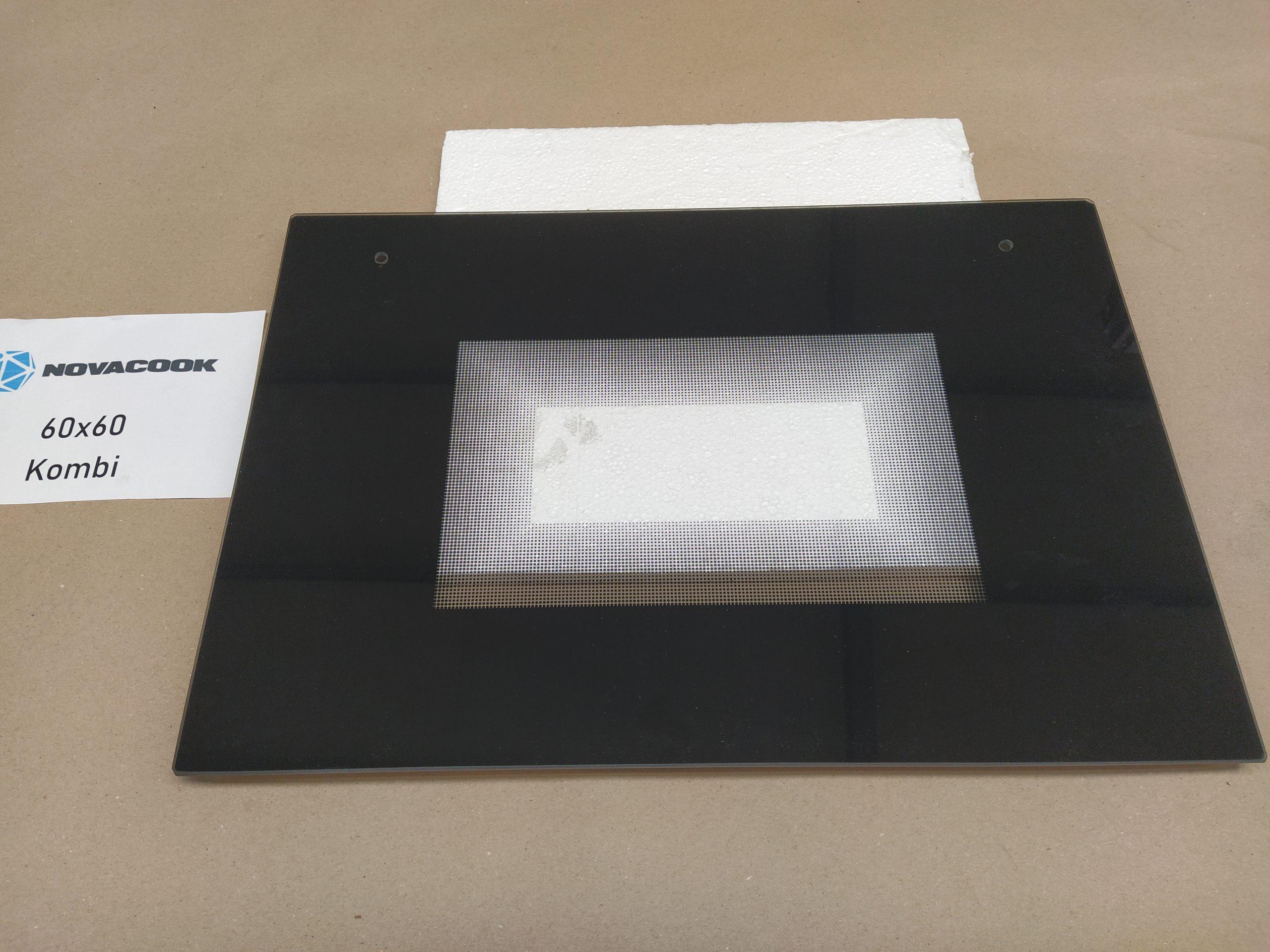 Sütő ajtőóüveg (60×60-as kombinált sütőhöz)