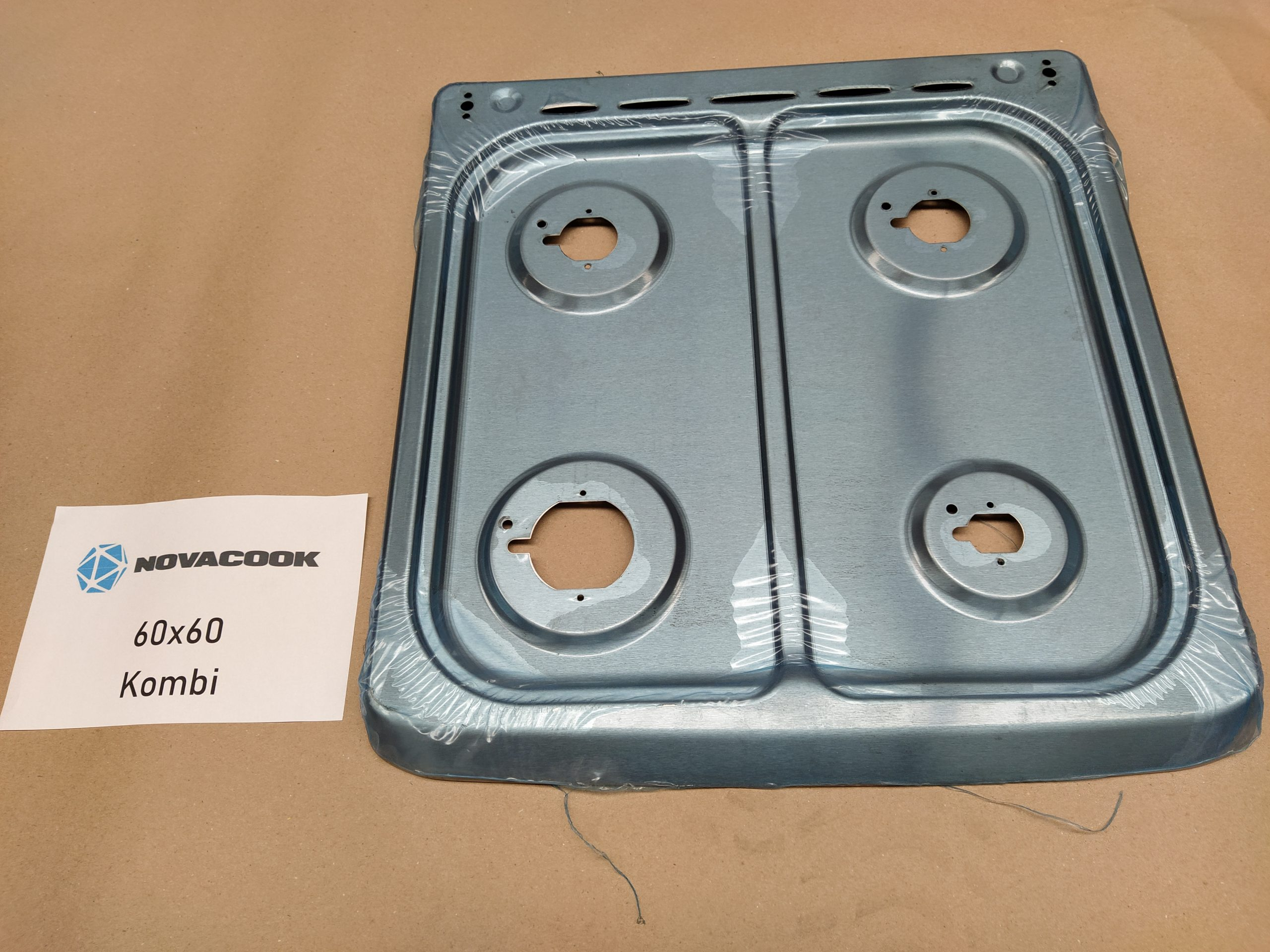 Tűzhely felsőrész (60X60-as kombinált sütőhöz)